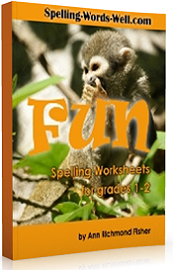 Fun Spelling Worksheets for grades 1 and 2