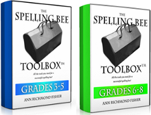Spelling Bee Toolboxes eBook covers