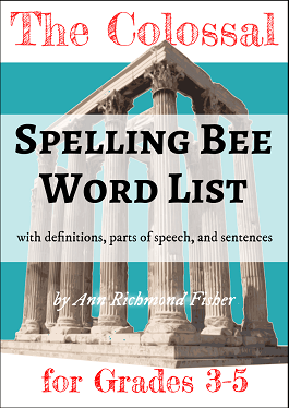 Colossal Spelling Bee Word List from SpellingWordsWell