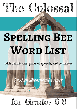 Colossal Spelling Bee ebook for grades 6-8