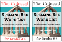 Colossal Spelling Bee Word Lists - 2 volumes