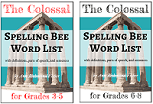 Colossal Spelling Bee Word Lists