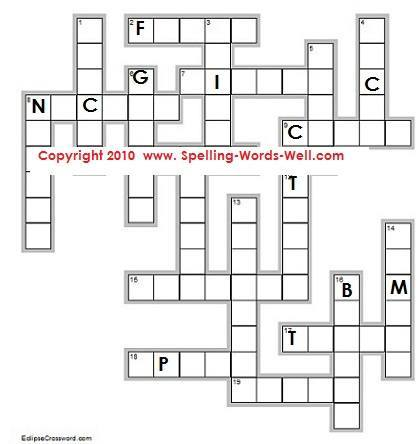 4th grade worksheets and spelling puzzles 2 al el il le words fill in puzzle sciox Images