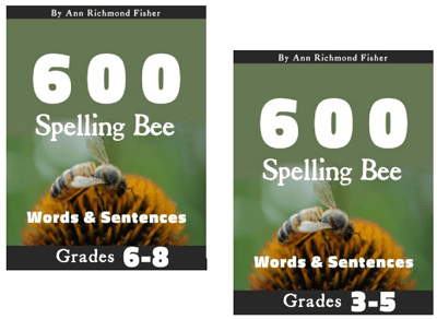 600 Spelling Bee Words & Sentences eBook