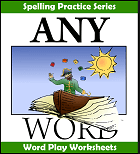 AnyWord Word Play worksheets