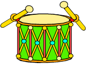 colorful drum