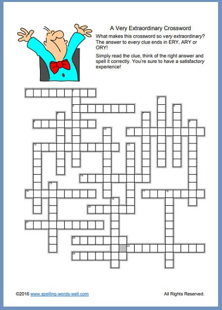 Crossword Puzzles Printable Convenient And Fun