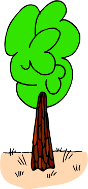 tall green tree