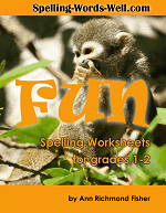 Fun Spelling Worksheets for Grades 1-2