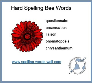 Hard Spelling Bee Words Can You Spell These - Can you spell