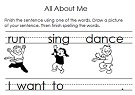 literacy worksheets