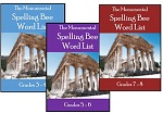 Monumental Spelling Bee Word Lists
