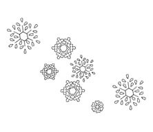Snowflakes from