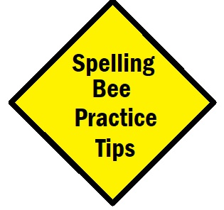 Spelling Bee Practice Tips and Word Lists