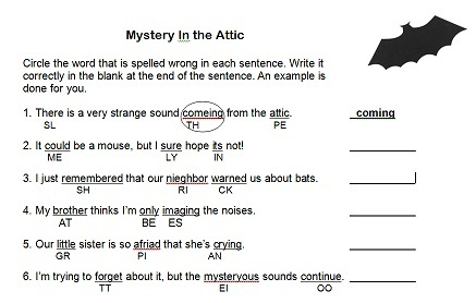 Writing for 4th graders worksheets