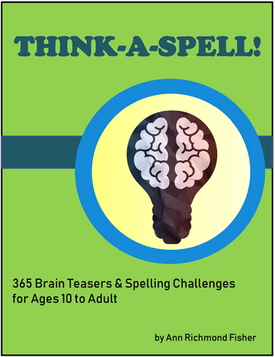 Think-a-Spell eBook from www.spelling-words-well.com