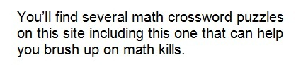 misspelling from a math site