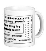 spelling bee award mug
